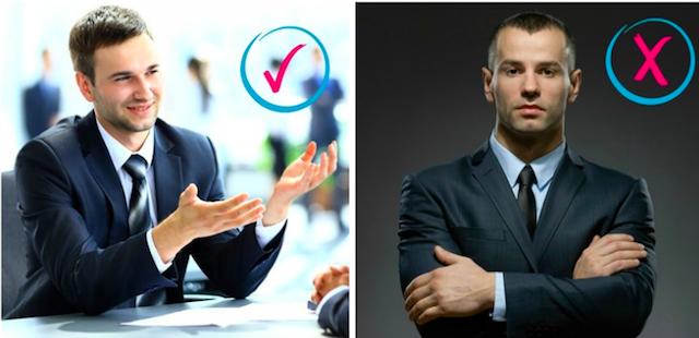 lenguaje corporal en la entrevista de trabajo